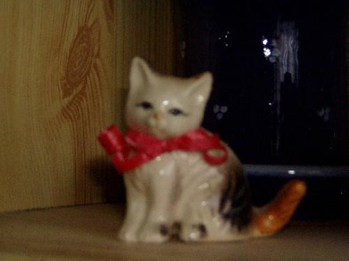 Název: Kočička keramická / Vystavovatel: Irca