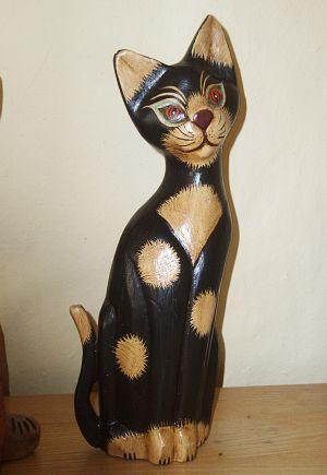 Název: Čertovská kočka / Vystavovatel: Věra Ľuptáková