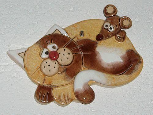 Název: Velký kočičí problém / Vystavovatel: Věra Ľuptáková