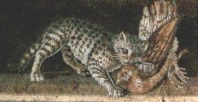 Kočka a umění - starověk